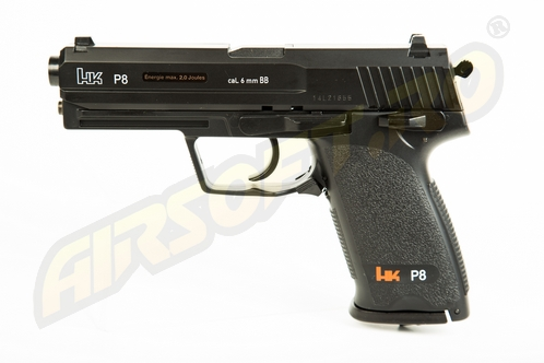 HECKLER KOCH P8 - GNB - CO2 - BLACK
