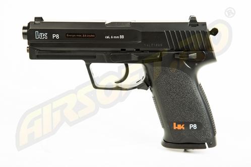 Heckler Koch P8 - Gnb - Co2 - Black imagine