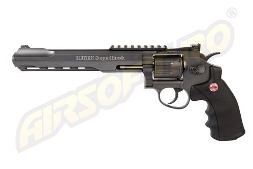 Imagine Umarex Ruger Super Hawk 8 Inch  - Full Metal Gnb Co2 Black