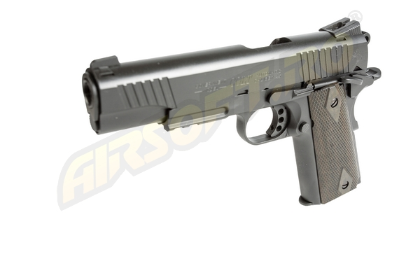 COLT M1911 RAIL GUN - GBB - CO2 - BLACK MAT