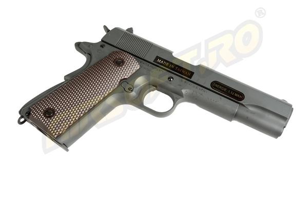 Imagine  501.5 lei, CYBER GUN Colt 1911 Editie Aniversara 100th, Gbb, Co2, Grey