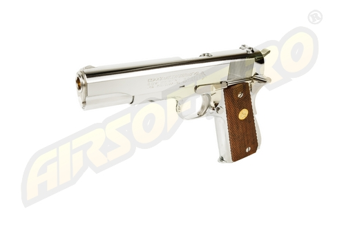 COLT GOVERNMENT SERIES 70 - NICKEL