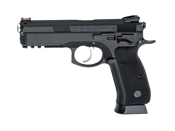 CZ75 SP-01 SHADOW - BLACK - GBB