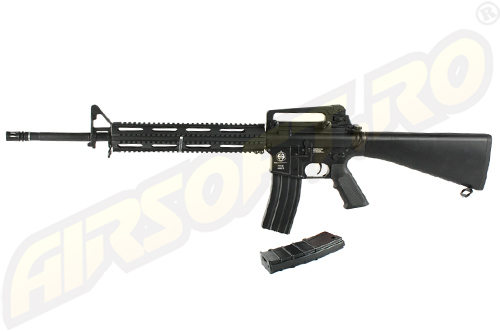 Imagine  1739.04 lei, ICS M16 A3 Ras, Metal Version, Black