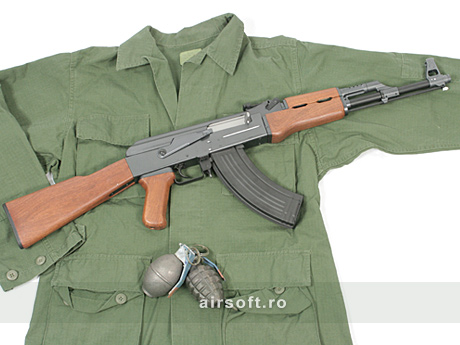 Imagine Cyber Gun Ak47 Full Metal  - Blow Back