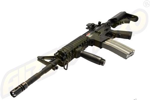 Gt Advanced Bb - Tr16 R4 Commando - Full Metal - Blow-Back - Black imagine