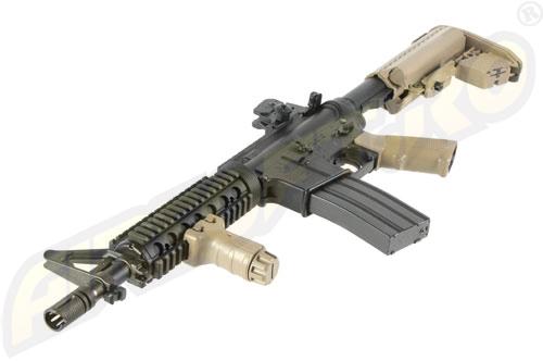 M4 CQB-R - RECOIL SHOCK - NEXT GENERATION - BLOW-BACK - FDE