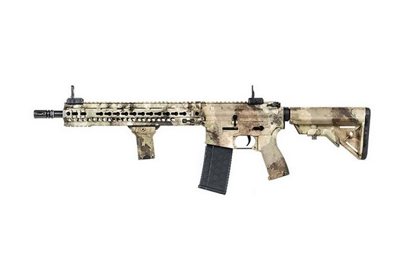 Imagine 1300.0 lei, EVOLUTION AIRSOFT Mk4 Smr 14.5 Inch, A-tacs Au, Lone Star Edition