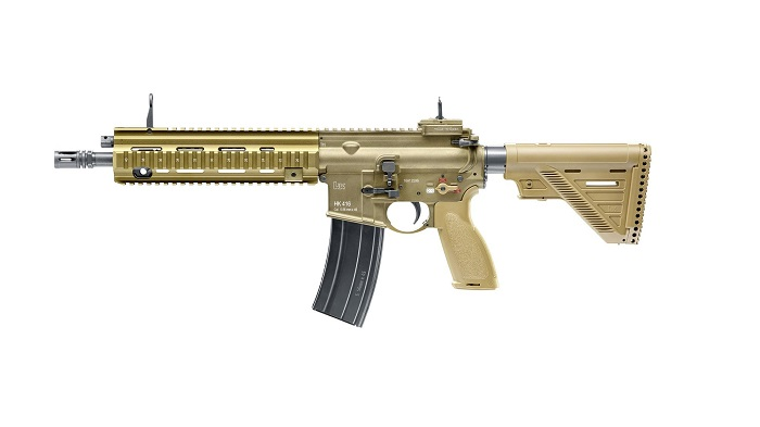 Heckler Koch Hk416 A5 - Ral8000 - Gbb imagine