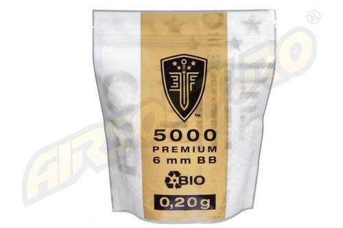 ELITE FORCE BILE DE 0.20G - 5000 BUC. - ALBE - BIODEGRADABILE