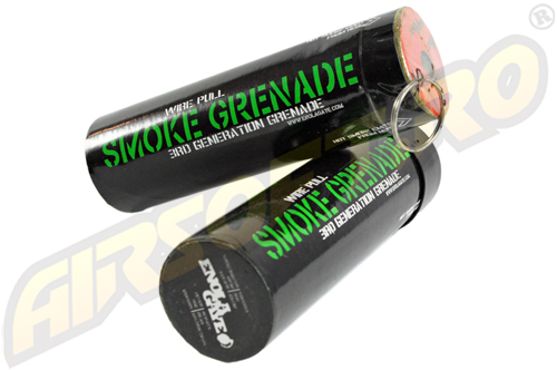 Grenada Fumigena Mare Cu Inel (FUM Verde) - Generatia Iii imagine