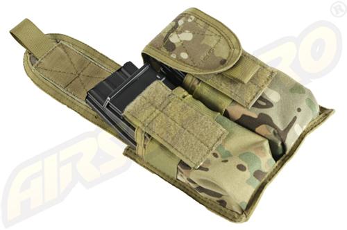 PORT INCARCATOR DUBLU M4/M16 - MULTICAM