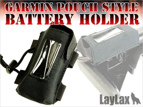 Garmin Pouch Style Battery Holder Bk imagine