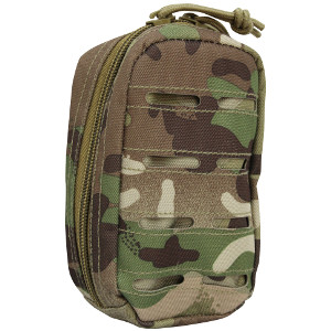 POUCH UTILITY - LASER CUT - SMALL - MULTICAM