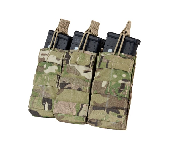 PORT INCARCATOR TRIPLU PENTRU M4/M16 - MULTICAM