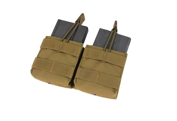 PORT INCARCATOR DUBLU PENTRU M14 - COYOTE BROWN