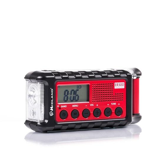 Radio Am/Fm Cu Power Bank Si Lanterna Er300 imagine