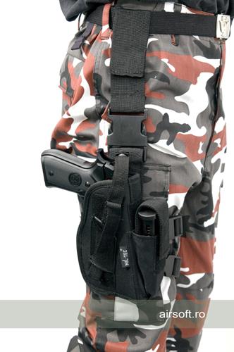 Teaca De Picior Pentru Pistol (NEGRU) imagine