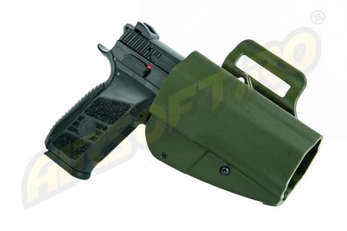 TEACA PENTRU CZ P-09 MODEL EVO5 ARES (OLIV)