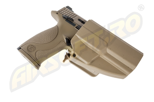 TEACA PENTRU S W MP9 MODEL EVO5 ARES (TAN)