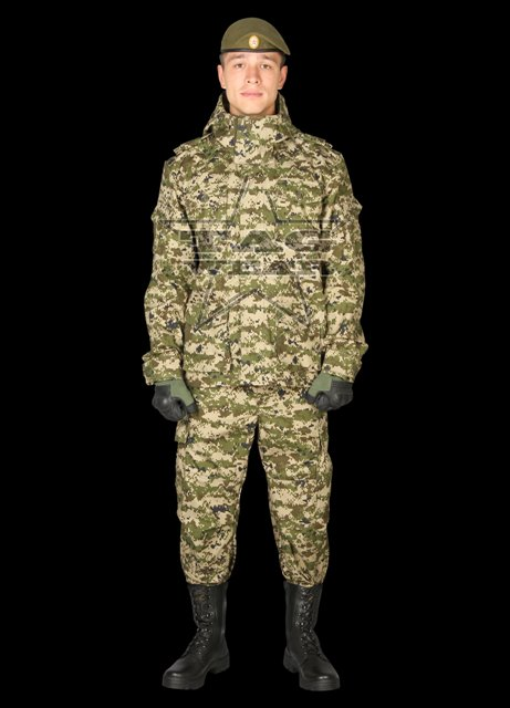 Costum Model Knight - Camuflaj Green Digit imagine