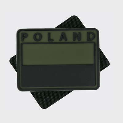 Patch Polonia - Pvc - Olive Green imagine