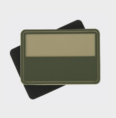 Patch Steag Polonia - Pvc - Khaki imagine