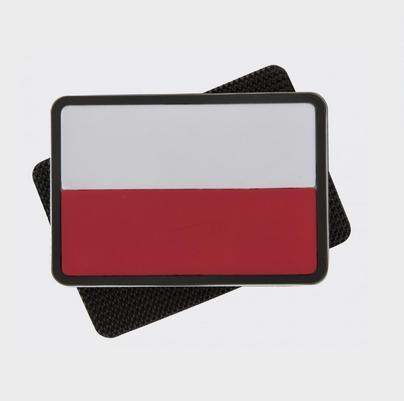 Patch Steag Polonia - Pvc - Culori Originale imagine
