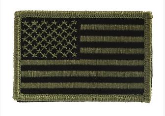Emblema U.S. - Oliv - Left imagine
