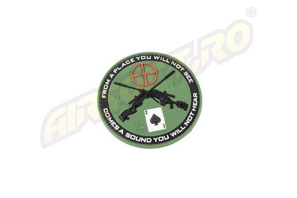 Patch Cauciuc - Sniper - Forest imagine