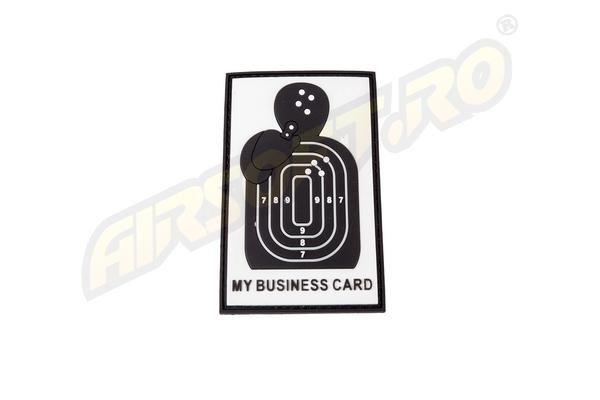 Patch Cauciuc - Business Card - Swat imagine