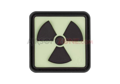 Patch Cauciuc - Radioactive - Black imagine