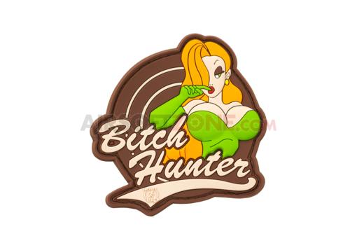 Patch Cauciuc Bitch Hunter - Multicam imagine