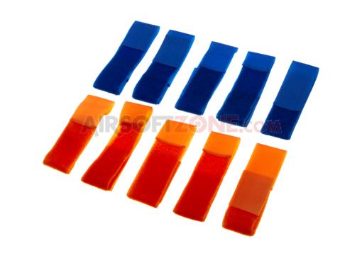 Set Patch-Uri Albastru/Portocaliu imagine