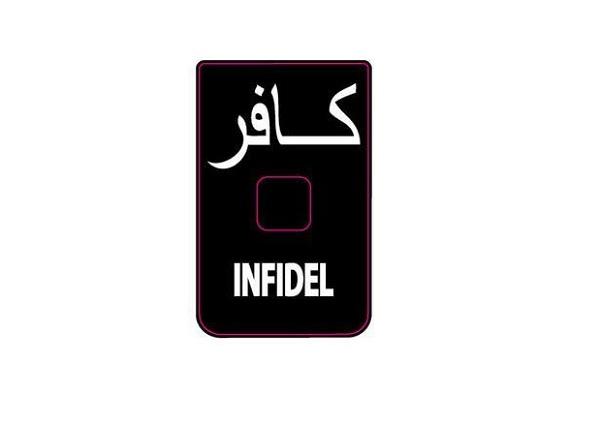 Abtibild - Mesaj Infidel - Pentru Incarcator Cz Scorpion Evo Iii - Set 3 Buc. imagine