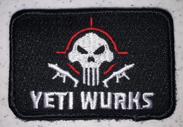 Patch - Yeti Wurks - Material Textil imagine