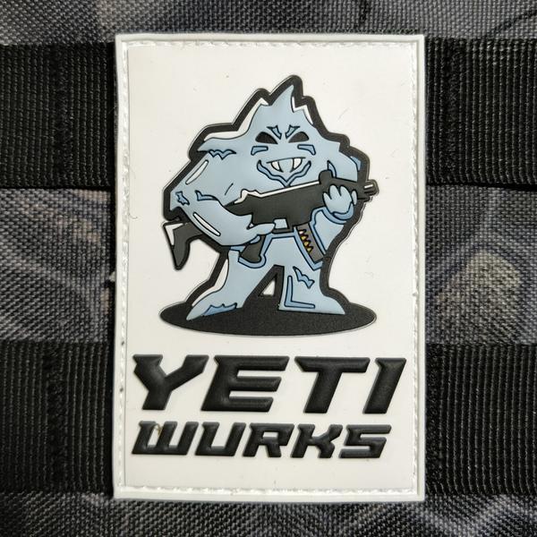 Patch - Yeti Wurks - Pvc imagine