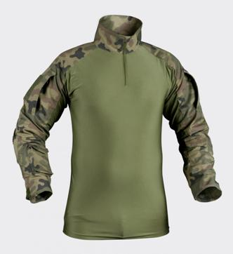 BLUZA MODEL COMBAT PL WOODLAND