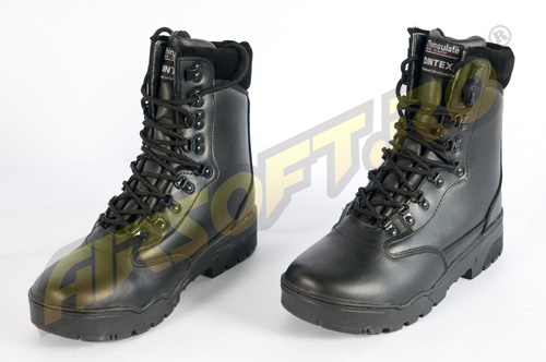 GHETE MODEL TACTICAL DIN PIELE