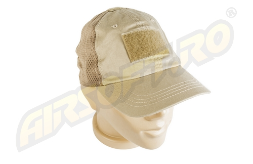 Sapca Mesh Tactical - Tan imagine