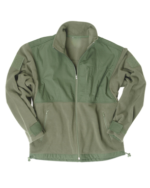 JACHETA FLEECE R/S OLIV