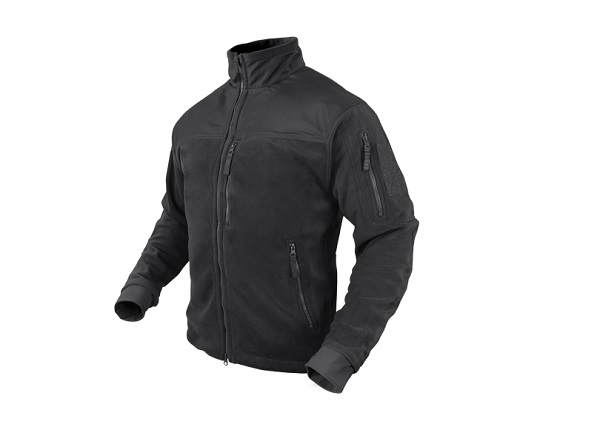 Imagine 345.0 lei, CONDOR Jacheta Fleece Model Alpha, Black