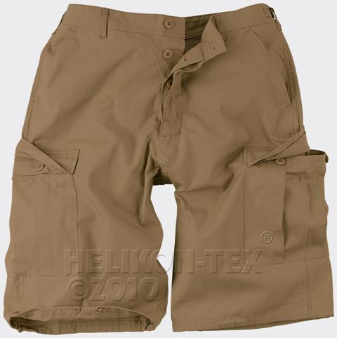 PANTALONI SCURTI MODEL BDU RIPSTOP COYOTE