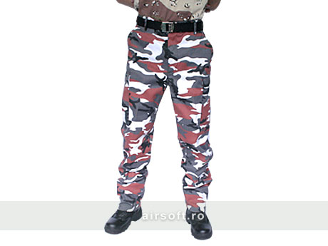 PANTALONI MODEL US BDU FIELD (RED)