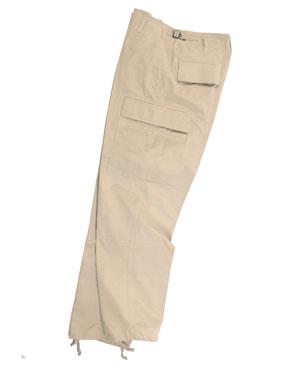 Pantaloni Model Ripstop (KHAKI) imagine