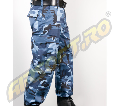 PANTALONI MODEL US BDU FIELD (SKYBLUE)