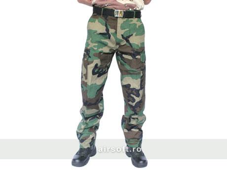 Pantaloni Model Ripstop (WOODLAND) imagine