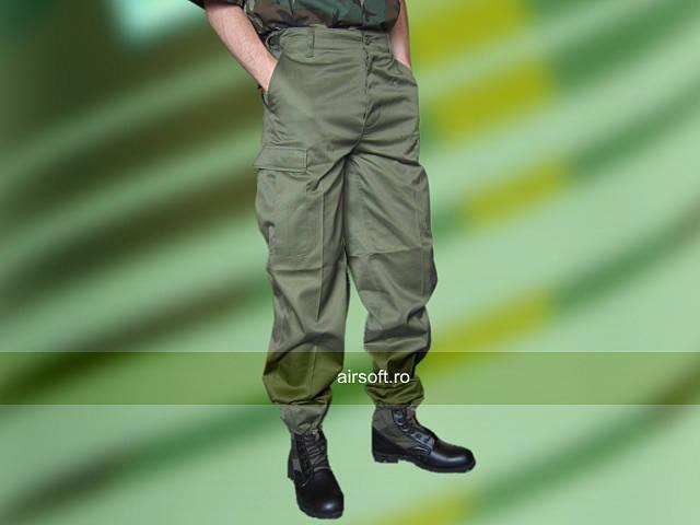 Pantaloni Model Us Bdu Ranger (OLIV) imagine