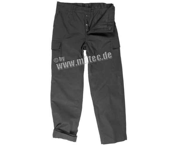 Pantaloni Moleskin Negru imagine