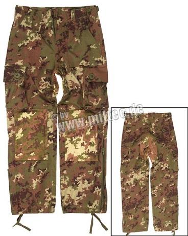 Pantaloni Model Commando - Vegetato Wl imagine